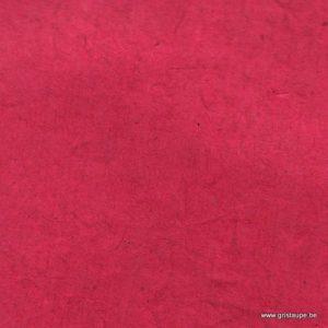 papier main lamali lokta fin rouge rose