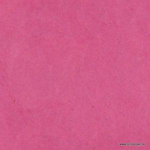 papier main lamali lokta magenta