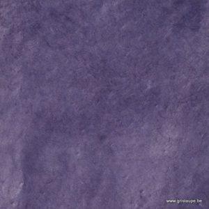 Papier main lamali lokta fin violet