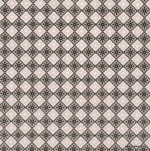 papier fabriqué à la main azulejos noir et taupe papertree