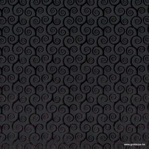 papier papertree fabriqué à la main curly noir brillant