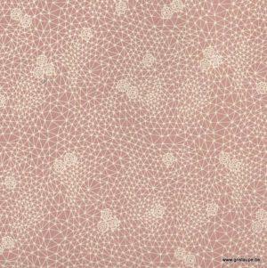 papier papertree fabriqué à la main diamonds rose poudré