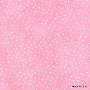 papier main lamali lokta semis rose