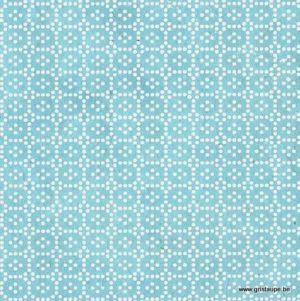papier main lamali lokta hiraniwa bleu