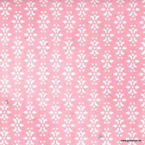 papier main lamali lokta eugénie rose