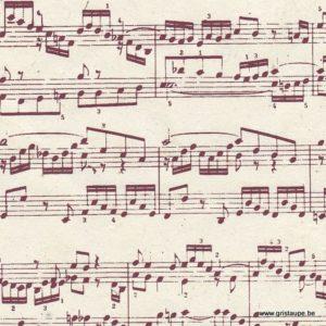 papier main lamali lokta sonate chocolat