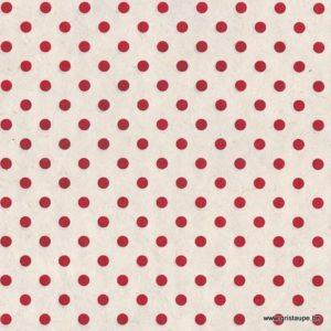 papier main lamali lokta pidoup rouge et blanc