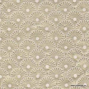 papier main lamali lokta kahori précieux or et ivoire