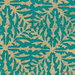 papier main lamali belem turquoise