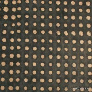 papier main lokta du népal lamali pois gris