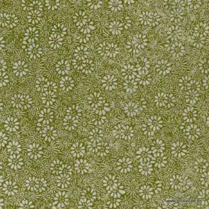 papier main lamali lokta prairie vert