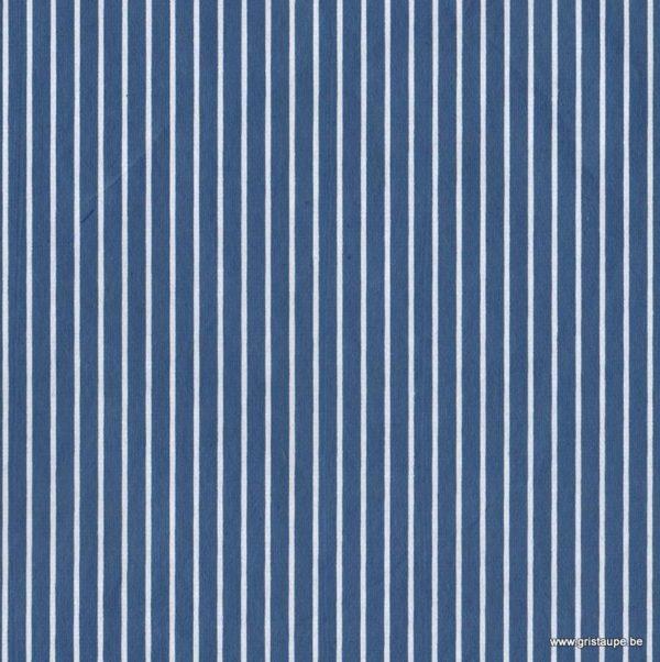 papier papertree frabriqué à la main marine blanc et bleu