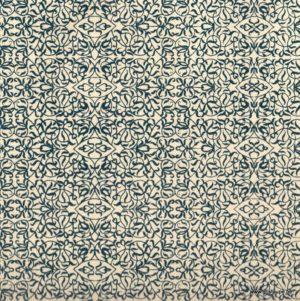 papier papertree fabriqué à la main miniature ivoire et bleu
