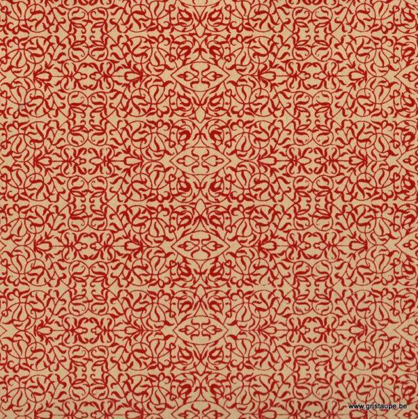 papier papertree fbriqué à la main minature lin et rouge