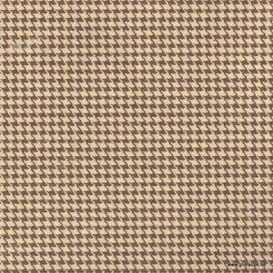 papier papertree fabriqué à la main pied de poule marron