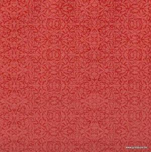 papier papertree fabriqué à la main miniature rouge et rouge