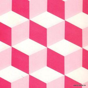papier petit pan perspective rose