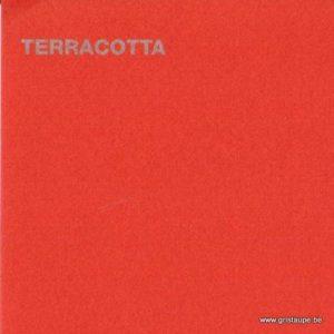 papier canford de loisirs créatifs de couleur terracotta