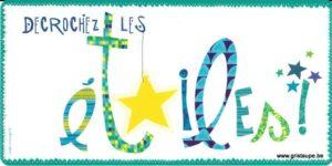 carte postale illustrée par valentine iokem et éditée aux éditions de cortil décrochez les étoiles