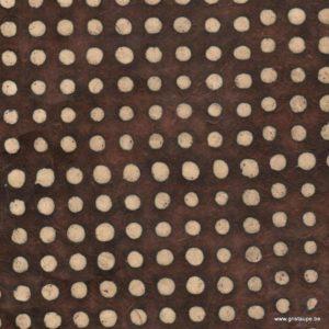 papier main lamali pois ébène pour encasdrement cartonnage et reliure
