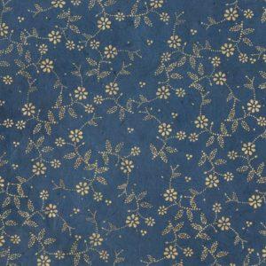 papier main lokta de chez lamali sybille bleu