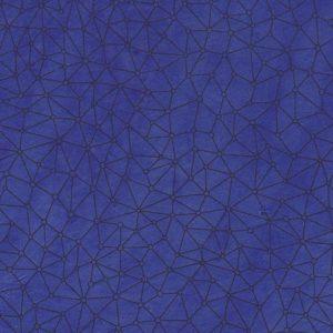 papier main lokta lamali connex bleu