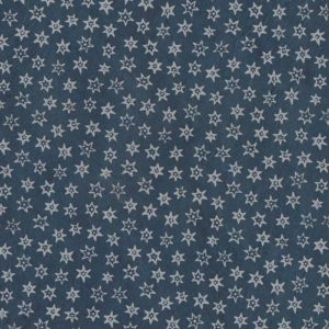 papier main lamali firmament bleu pétrole
