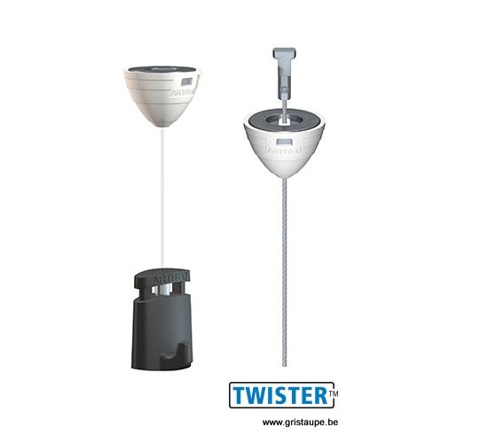 système de suspension magnétique pour plafond artiteq