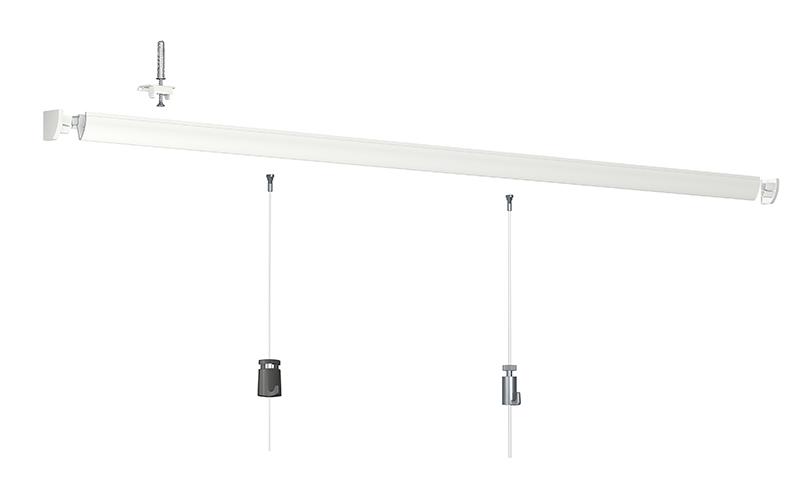 cimaise pour plafond artiteq up rail