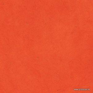 papaier main du népal lamali orange pour encadrement, cartonnage, reliure et abat jour papier mâché
