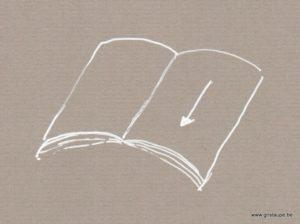 le sens du papier en reliure
