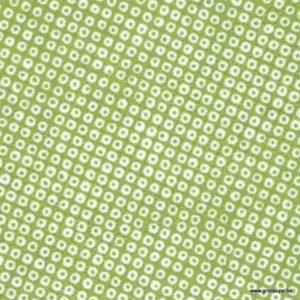papier japonais washi petits points verts