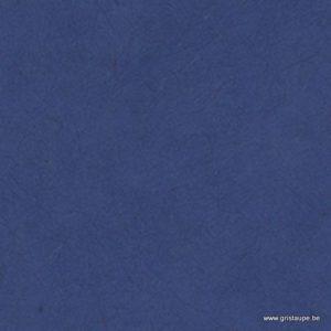 papier lokta fin fabriqué à la main au népal de couleur bleu profond