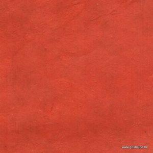 papier main lokta fin fabriqué au népal couleur terracotta