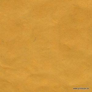 papier lokta fin fabriqué au népal couleur moutarde