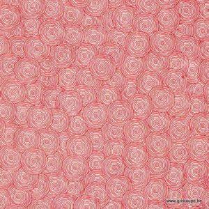 papier fabriqué à la main au népal rondalo rouge sur fond naturel