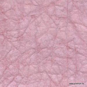 papier lokta tramé translucide fabriqué par lamali au népal couleur rose