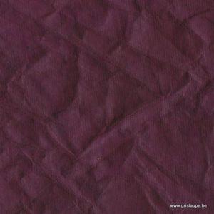 papier lokta tramé translucide fabriqué par lamali au népal couleur aubergine