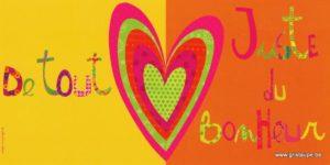 carte postale illuqstrée par valentine iokem représentant un coeur