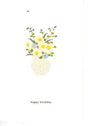 carte postale double illustrée et éditée par kartotek copenhagen happy birthday